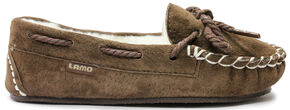 Lamo Footwear Brittain Kid's Moccasins , Chocolate, hi-res