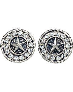 Montana Silversmiths Starlight Concho Earrings, , hi-res