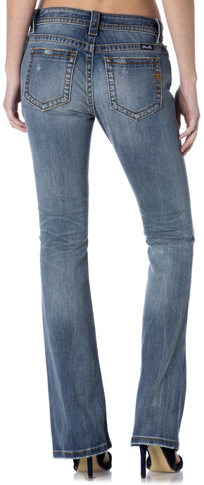 Miss Me Sandwashed Distressed Jeans - Bootcut, Indigo, hi-res