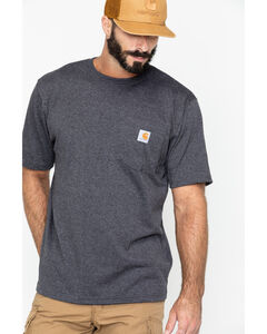 Carhartt Men's Force Cotton Short Sleeve Shirt, , hi-res