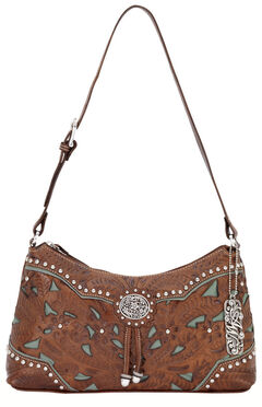 American West Lady Lace Shoulder Bag, , hi-res