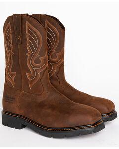 Cody James Men's Waterproof Composite Toe Pull On Work Boots , , hi-res