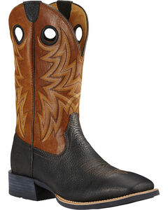 Ariat Moonless Night Heritage Cowhorse Performance Cowboy Boots - Square Toe , , hi-res