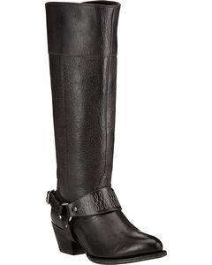 Ariat Sadler Black Women's Riding Boots - Round Toe , , hi-res