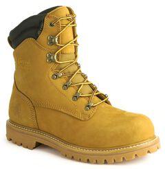 "Chippewa IQ Waterproof 8"" Lace-Up Work Boots - Steel Toe, , hi-res"