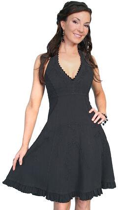 Scully Peruvian Cotton Halter Top Dress, , hi-res