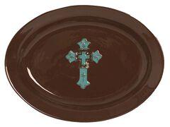 HiEnd Accents Cross Serving Platter, , hi-res