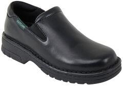 Eastland Women's Black Newport Slip-Ons , , hi-res