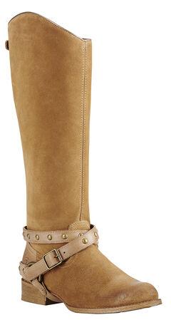 Ariat Brooklyn Brown Manhattan Fashion Cowgirl Boots - Round Toe , , hi-res