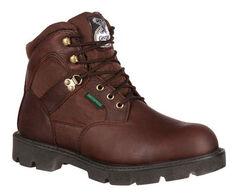 Georgia Homeland Waterproof Work Boots - Steel Toe, , hi-res