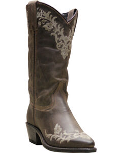 Abilene Boots Women's Embroidered Western Boots - Pointed Toe, , hi-res