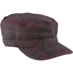 Stormy Kromer The Flat Top, Charcoal Grey, hi-res