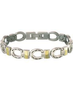 Sabona Horseshoe Link Magnetic Bracelet, , hi-res