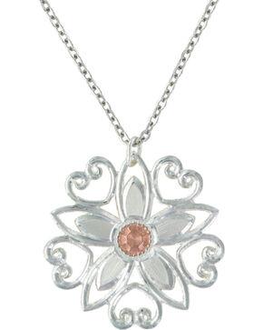 Montana Silversmiths Star Flower Love Necklace, Multi, hi-res