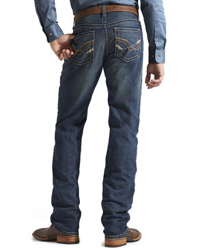Ariat Denim Jeans - M2 Jagged Storm Relaxed Fit - Big & Tall, Med Wash, hi-res