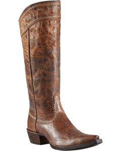 "Ariat Sahara 15"" Cowgirl Riding Boots - Snip Toe, , hi-res"