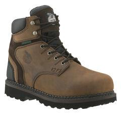 """Georgia Brookville Waterproof 6"""" Work Boots, , hi-res"""