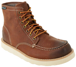 Eastland Men's Pecan Lumber Up Boot , Pecan, hi-res