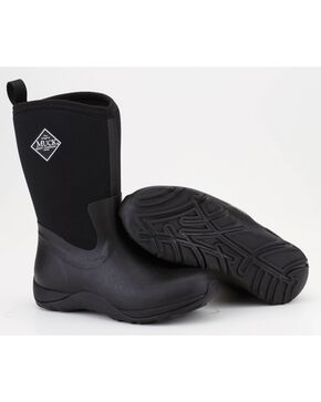 Muck Boots Black Arctic Weekend Boots, Black, hi-res