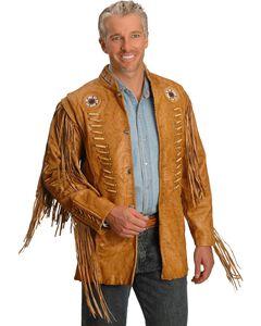 Kobler Zapata Fringed Leather Jacket, , hi-res