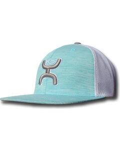 "Hooey Turquoise ""Hooey Wrap"" Twill Front Snapback Baseball Cap , , hi-res"