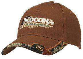 Nocona Brown & Camo Shotgun Shell Cap, Brown, hi-res