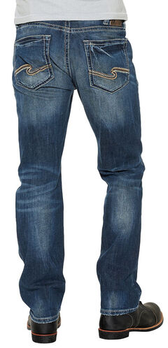 Silver Men's Grayson Easy Fit Straight Jeans, , hi-res
