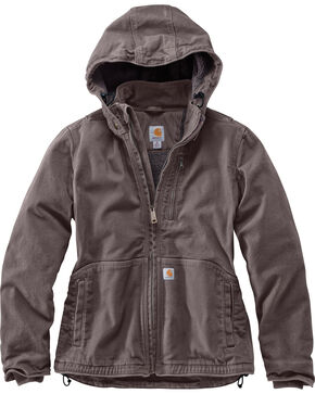 Carhartt Women's Gray Full Swing Caldwell Jacket , Grey, hi-res