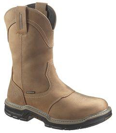 Wolverine Anthem Waterproof Pull-On Work Boots - Round Toe, , hi-res