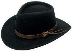 Twister Durango Crushable Felt Hat, , hi-res