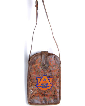 Gameday Boots Auburn University Crossbody Bag, Brass, hi-res
