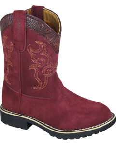 Smoky Mountain Youth Girls' Rae Western Boots - Round Toe , , hi-res