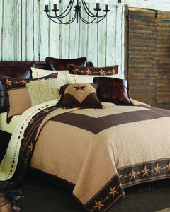 HiEnd Accents Star Ranch 3-Piece Quilt Set - King, , hi-res