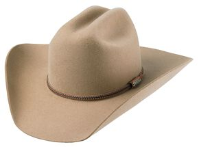 Tony Lama Low Rodeo Pecan 3X Wool Cowboy Hat, Pecan, hi-res