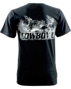 Cowboy Up Men's Team Roper Graphic Tee, , hi-res