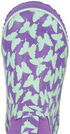 Smoky Mountain Toddler Girls' Butterfly Waterproof Boots, Purple, hi-res