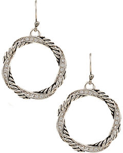 Montana Silversmiths Twisted Coil Earrings, , hi-res
