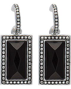 Rock 47 by Montana Silversmiths Radiant Night Reflections Dangle Earrings, , hi-res
