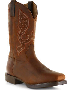 Cody James Men's Brown Performance Western Boots - Square Toe, , hi-res