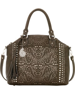 Bandana by American West Mesa Collection Convertible Zip Top Tote, , hi-res