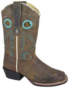 Smoky Mountain Youth Girls' Eldorado Western Boots - Square Toe, , hi-res