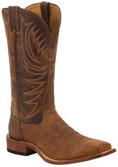 Tony Lama Soft Honey Americana Cowboy Boots - Square Toe , , hi-res