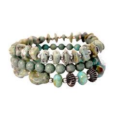 Treska Mykonos 3-Strand Stretch Bracelet , , hi-res