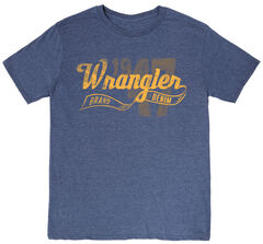 Wrangler Men's 1947 Logo Short Sleeve T-Shirt , , hi-res