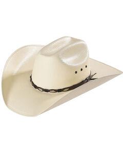 Bullhide Alamo 50X Shantung Straw Cowboy Hat, , hi-res