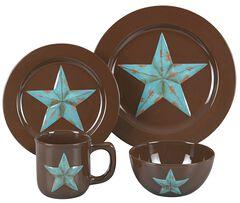 HiEnd Accents Star Dinnerware Set, , hi-res