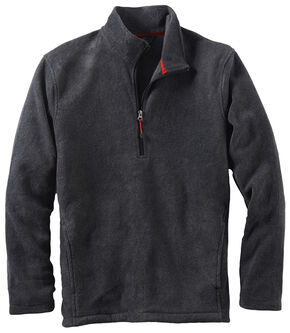 Woolrich Men's Andes II Fleece Half-Zip Pullover, Charcoal Grey, hi-res