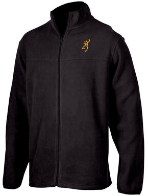 Browning Men's Black Laramie Fleece Jacket , Black, hi-res