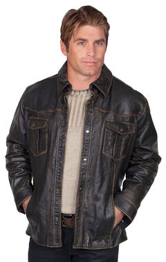 Scully Lamb Leather Jacket, , hi-res