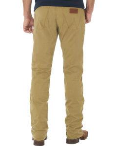 Wrangler Retro Slim Fit Straight Leg Khaki Jeans - Big and Tall, , hi-res